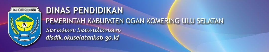 Portal Resmi Dinas Pendidikan Pemerintah Kabupaten OKU Selatan